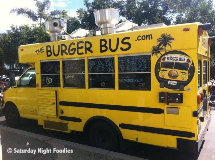 The Burger Bus - Santa Monica, CA Gourmet Food Truck