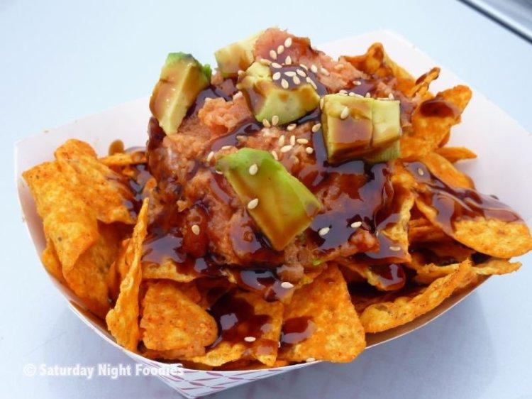 Spicy Tuna Nachos from Jogasaki Burrito