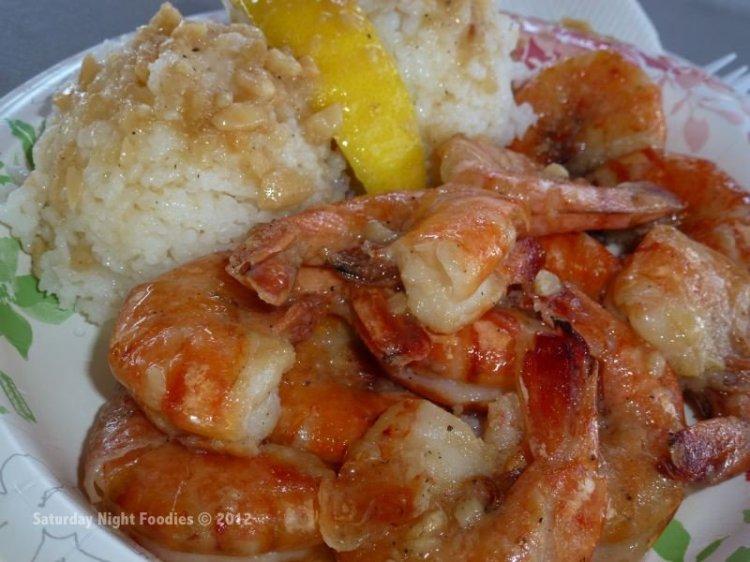 Scampi Shrimp with Garlic Rice