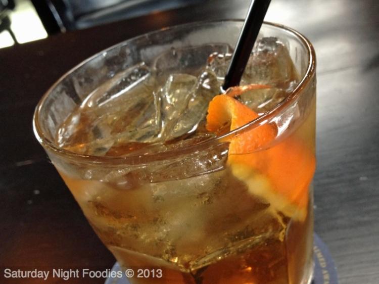 Kentucky Orange Blossom - Angles Envy Bourbon, Noilly  Prat Sweet Vermouth, St Germain & Burnt Orange
