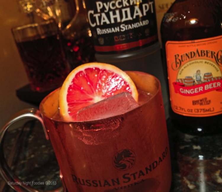 Blood Orange Mule
