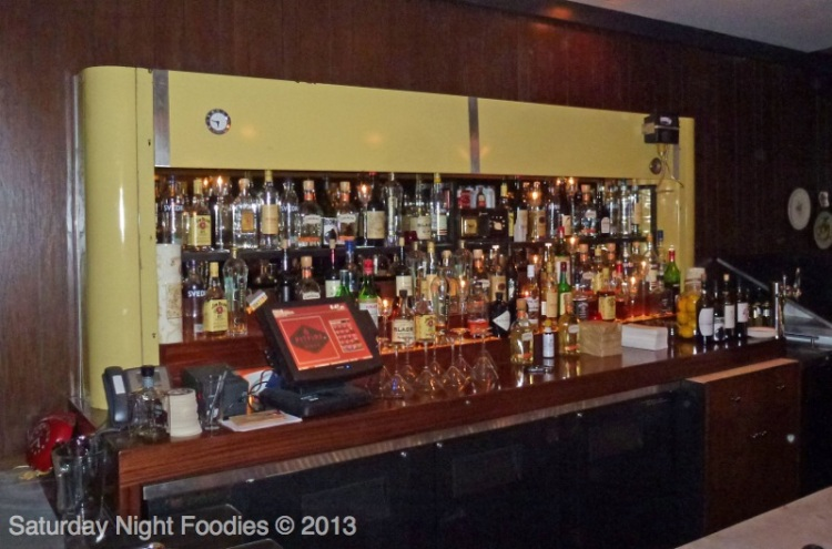 The Bar in the Speakeasy