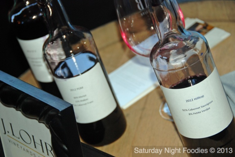 J.Lohr Vineyards & Wines Offered 3 of their Blends