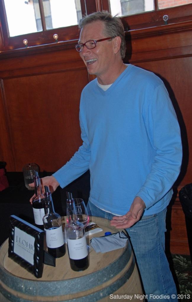 Steve Peck the Winemaker for J. Lohr