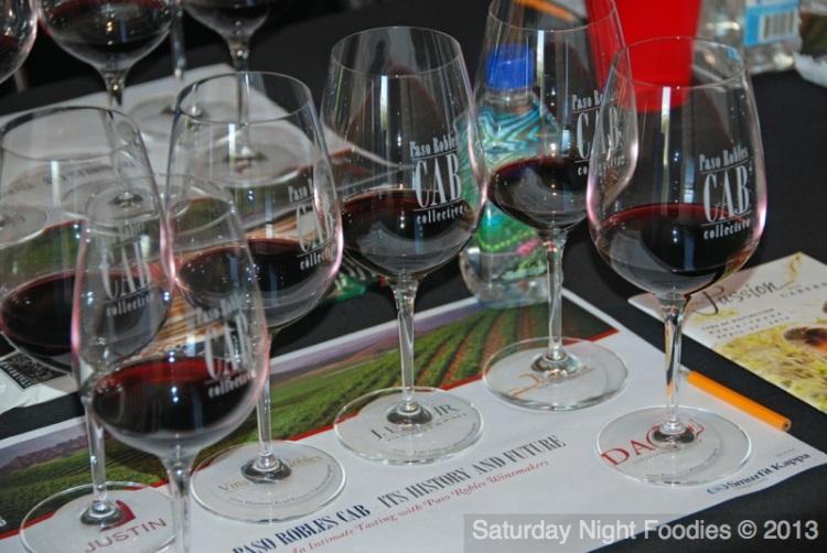 Taste of Each Panelist's 2009 or 2010 Signature Cabernet or Bordeaux-style Blends