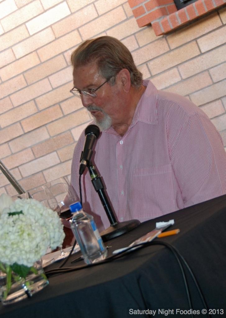 Gary Eberle, owner/enologist of Eberle Winery