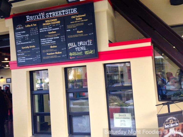 Bruxie Streetside will open every morning at 7 a.m. beginning in early May