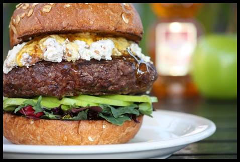 Now that is a burger!