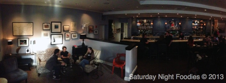 Quick View of the Bar