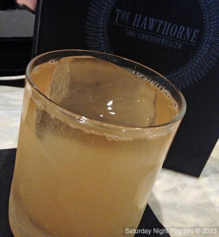 """Penicillin"" with Laphroaig Whiskey"