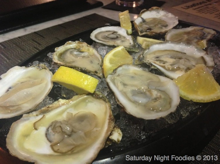 Happy Hour Shucked Oysters
