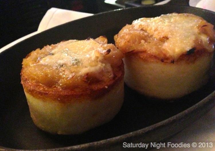Creamy Baked side of Polenta - Yum!