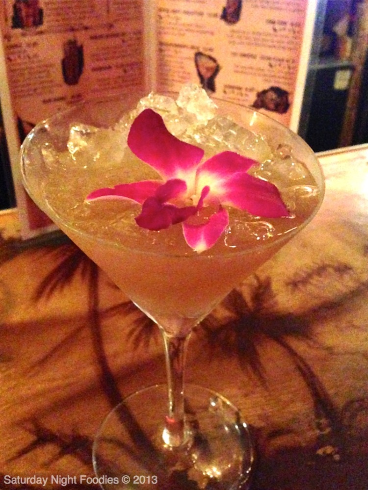Beachcomber's Gold with Absinthe