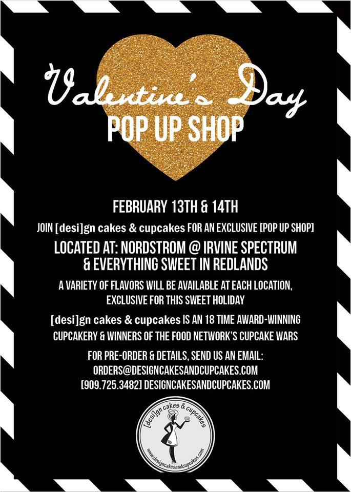 Valentine's Day Pop Up Shops