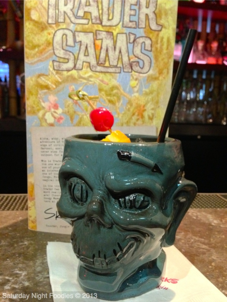 Shrunken Zombie Head - Reserve & Aged Rums, Tropical Juices, Falernum and Cinnamon