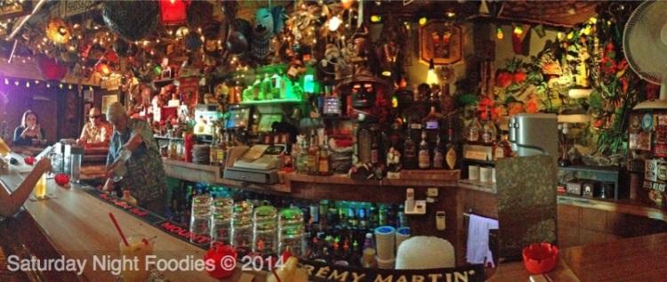 Fun & Eclectic Tiki Bar