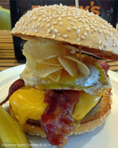 Brunch Burger - Fried Egg, Bacon & American Cheese